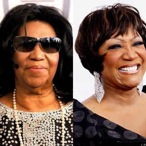 Aretha Franklin and Patti LaBelle