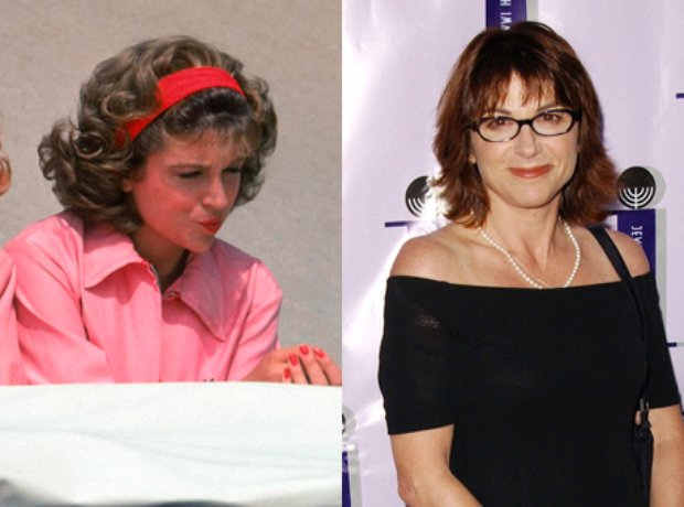 Dinah Manoff then and now