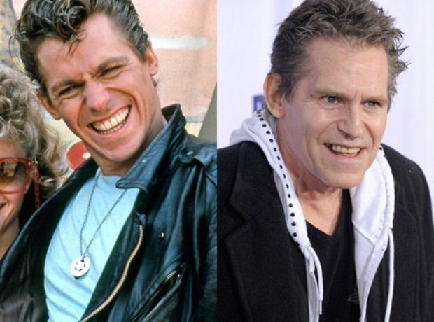 Jeff Conaway then and now