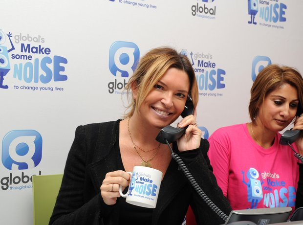 Tina Hobley Global Make Some Noise 2014