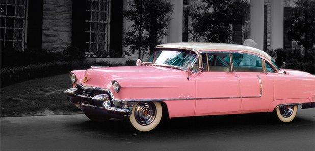 Elvis Presley pink cadillac