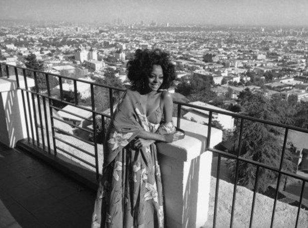 Diana Ross cityscape