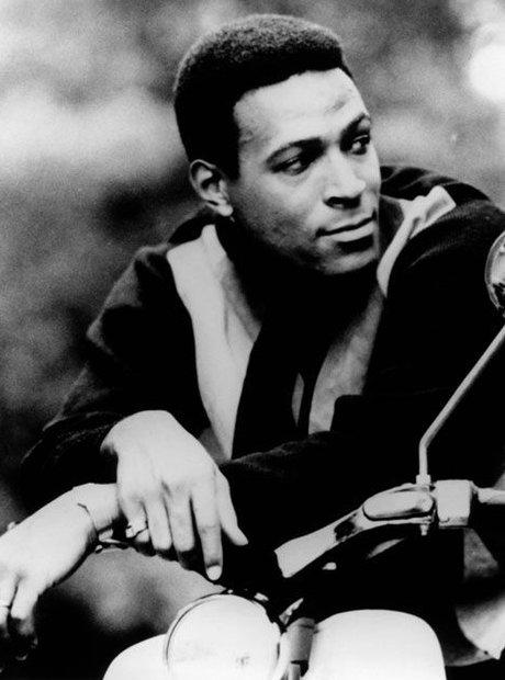 Marvin Gaye motorbike