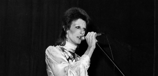 David Bowie On Stage