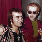 Bernie Taupin and Elton John 1973
