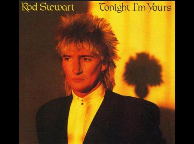 Rod Stewart 80S ALBUM COVERS