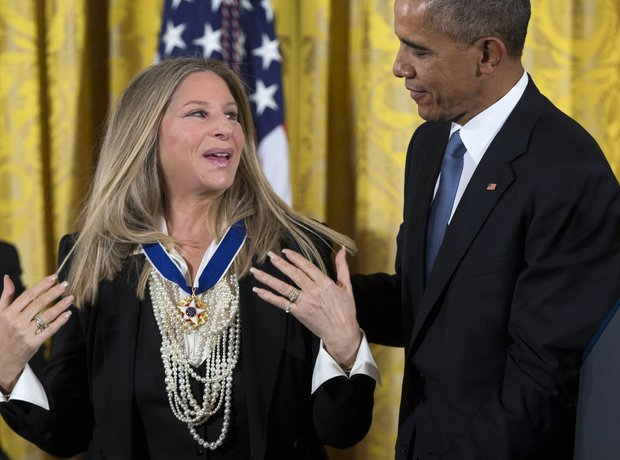 barbra streisand barack obama
