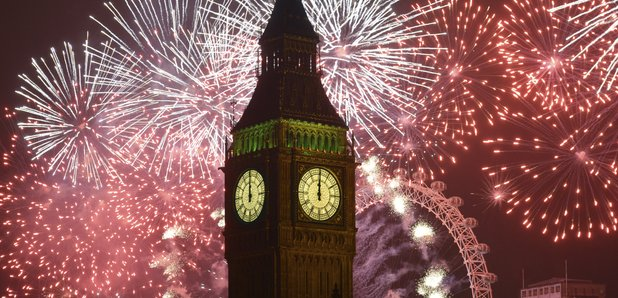 New Year's Eve London