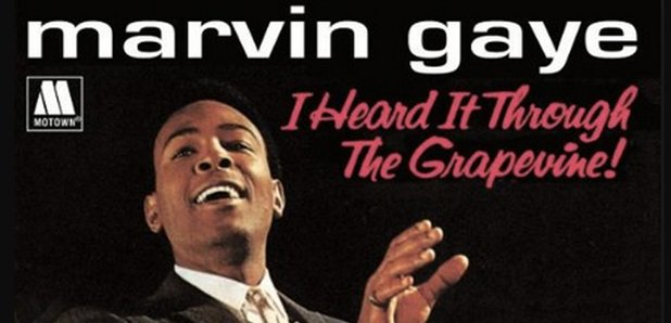 Marvin Gaye Grapevine Single Cover