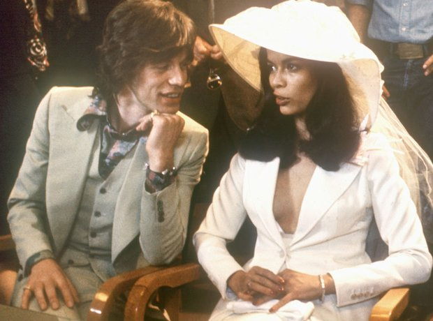 Couples Gallery Bianca Jagger and Mick Jagger