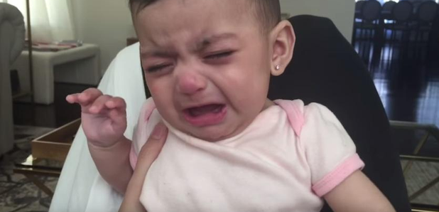 Baby Alina Scared of Lion King song