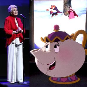 Angela Lansbury sings Beauty and the Beast