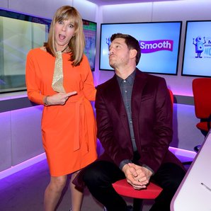 Kate Garraway and Michael Buble