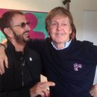 Ringo Paul McCartney studio