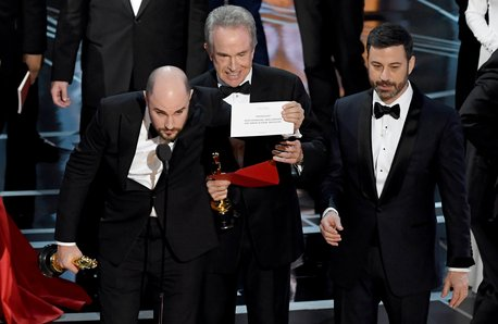 oscars 2017 best movie mistake