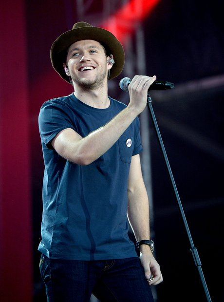 Niall Horan live during One Love Manchester