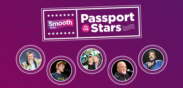Smooth Radio's Passport to the Stars competition
